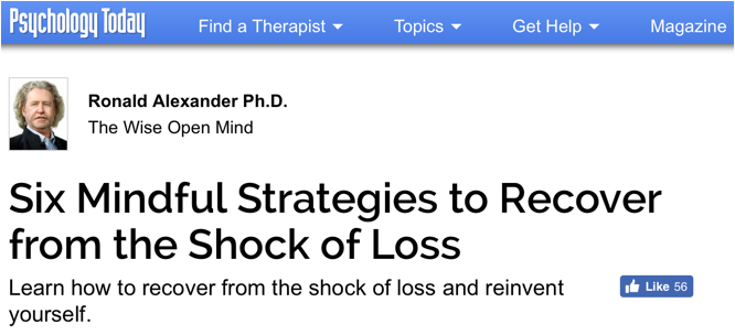 Six mindful strategies to recover from shock of loss